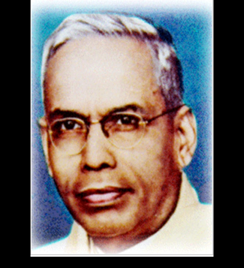 Portrait of S. R. Ranjanathan