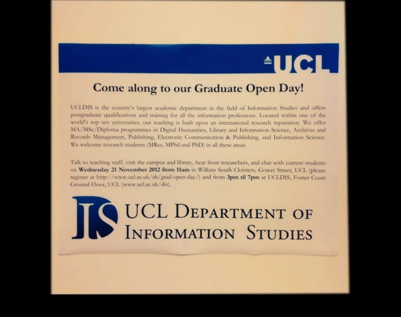 Graduate Students Open Day
